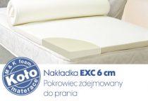 nakładka na materac EXC 6cm
